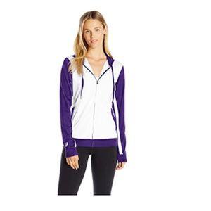Asics Lani Hooded Jacket, Purple, Medium, NWT